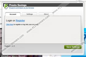 Presto Savings