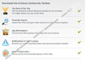 CricBuzz Toolbar