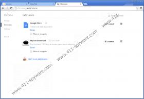 MySocialShortcut Toolbar