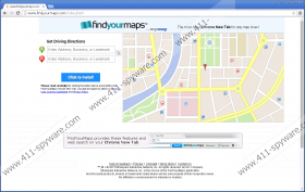FindYourMaps Toolbar