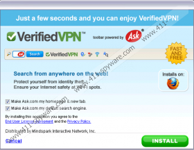 VerifiedVPN Toolbar
