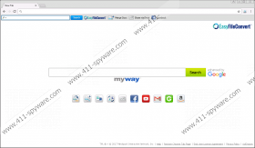 EasyFileConvert Toolbar