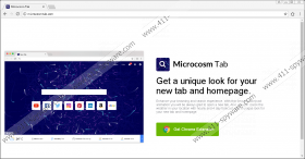 Microcosm New Tab