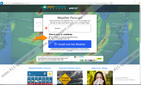 QuickWeatherTracker Toolbar
