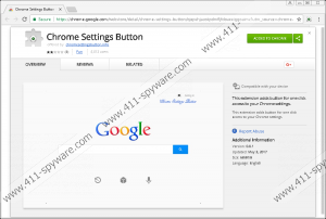 Chrome Settings Button