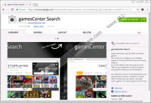GamesCenter Search