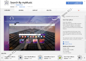 Search By myMusic Extension