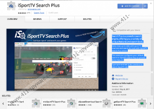 iSportTV Search Plus Extension