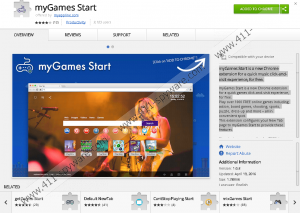 myGames Start Extension