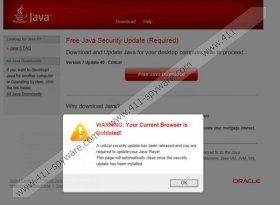 Java Software Critical Update