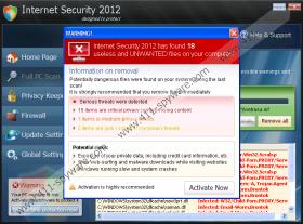 Internet Security 2012