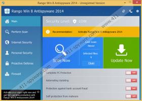 Rango Win 8 Antivirus 2014