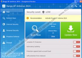 Rango XP Antivirus 2014