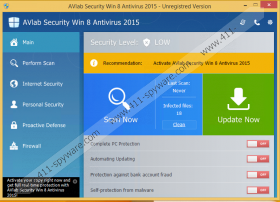 AVLab Internet Security Win 8 Antivirus 2015