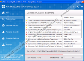 AVLab Internet Security XP Antivirus 2015