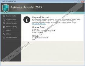 Antivirus Defender 2015