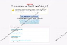 CryptoFortress Ransomware