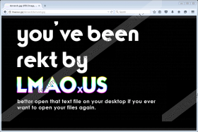 LMAOxUS ransomware