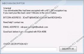 Mikoyan Ransomware