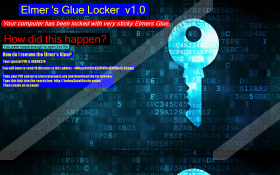 Elmers Glue Locker Ransomware