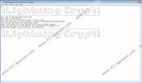 LightningCrypt Ransomware