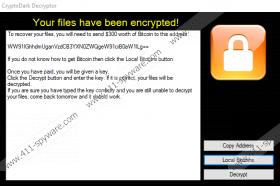 Cryptodark Ransomware