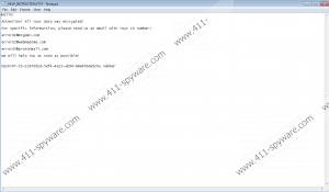 Error Ransomware