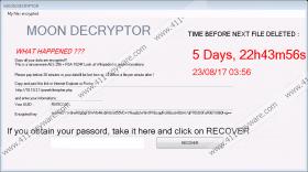 MoonCryptor Ransomware