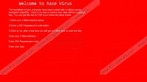Haze Ransomware