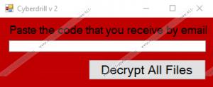 CyberDrill Ransomware