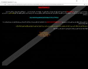 Wannasmile Ransomware
