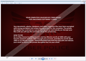 Cyber Police Ransomware