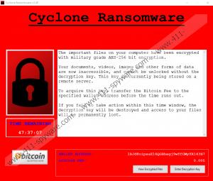Cyclone Ransomware