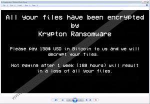 Krypton Ransomware