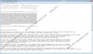 BlackRuby Ransomware