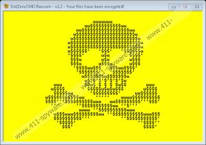 DotZeroCMD Ransomware