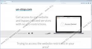 Un-stop Adware