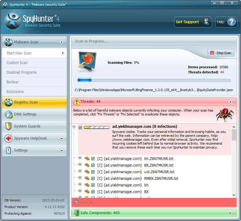 spyhunter scanner