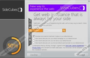 how to remove search sidecubes com
